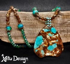 Your place to buy and sell all things handmade Necklace Lengths, Beaded Necklace, Necklaces, Turquoise Color, Sell Items, Crystal Jewelry, Handcrafted Jewelry, Turquoise Bracelet, Glass Beads