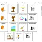 "Visual Communication Tool to accompany ""The Leaves on the Tree"" (sung to the tune of ""The Wheels on the Bus"".  This product included free in SLP Ov..."