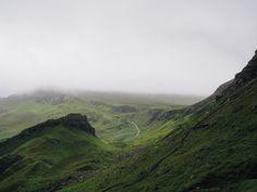 アイルランド, 山, 風景, 風光明媚な, 緑, 静かな, 屋外, 曇った, バレー, 平和, ハイキング