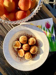 Tvarohovo-špaldové guličky s marhuľami a škoricou - Vegan Lady Pretzel Bites, Muffin, Bread, Vegan, Breakfast, Food, Basket, Morning Coffee, Brot