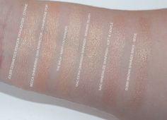 Jouer Cosmetics Powder Highlighter Citrine Swatches