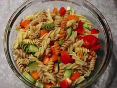 Tricolor pasta? If you have yet to unleash this culinary treat on your kiddos, then you're in luck, because kids go absolutely crazy for it! As if pasta couldn't get any better, this dish takes the multi-colored pasta and makes it a more complete and hearty meal with the addition of veggies. This recipe is very adaptable, so don't be afraid to mix it up with whatever you've got in your pantry or...