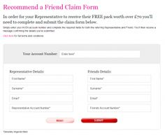 Once you have joined Avon in campaigns 8 - 9 or 10 simply recommend a friend by filling in this form