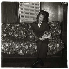 Sweet (by Diane Arbus, A Woman with Her Baby Monkey, NJ, 1971)