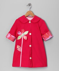 Orchid Daisy Jacket, $44.99 from #zulily for #fall.  Would be adorable for Tres.