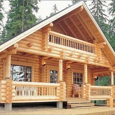 Tiny house movement for homeless Source Wooden house, wooden home, log house, wooden cottage, rest h Log Cabin Living, Small Log Cabin, Log Cabin Homes, Cottage Homes, Log Cabins, Log Cabin Kits, Cabin House Plans, Tiny House Cabin, Cabin Floor Plans