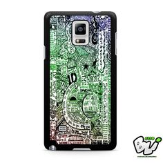 1d One Direction Samsung Galaxy Note 4 Case