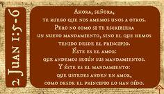 2 Juan 5-6