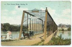 First Avenue Bridge, Rock Falls/Sterling, IL Rock Falls, Places Of Interest, Back In Time, Worlds Largest, Illinois, River, History, Bridges, Third
