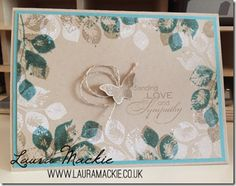 Stampin' Up! UK Demonstrator Laura Mackie: Stampin' Up! Butterfly Cards, Flower Cards, Butterfly Tattoos, Flower Tattoos, Zealand Tattoo, Stampin Up Karten, Stampinup, Beautiful Handmade Cards, Stamping Up Cards