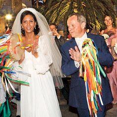 100 Memorable Celebrity Wedding Moments - Wolfgang Puck