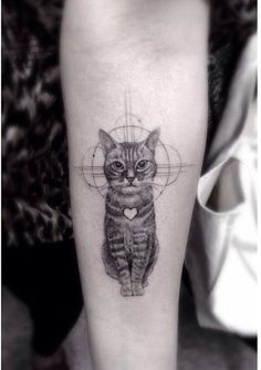 Factory Tattoo & Studio: 19 Lindas tatuagens de gatos para você se inspirar!                                                                                                                                                                                 Mais