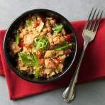 Get Chicken Cauliflower Fried Rice Recipe from Food Network Clean Eating Recipes, Diet Recipes, Chicken Recipes, Healthy Eating, Cooking Recipes, Healthy Cooking, Chicken Cauliflower, Cauliflower Recipes, Healthy Chicken