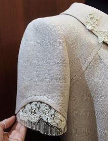 Kurti Sleeves Design, Sleeves Designs For Dresses, Sleeve Designs, Fashion Sewing, Diy Fashion, Fashion Dresses, Womens Fashion, Blouse Patterns, Blouse Designs
