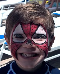 Face Painting-Spider-Man