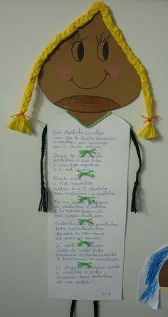 Resultado de imagem para trabalhos sobre o sao martinho Diy And Crafts, Crafts For Kids, Arts And Crafts, Public School, Crochet Hats, Writing, Cool Stuff, Ideas Para, Kindergarten Jobs