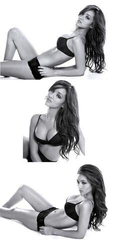 Melanie Iglesias hot in lingerie seductive poses