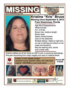 missing her belonging tropfest The body of jennifer marshell white, who has been missing since april 8, was found sunday during a search, authorities said  but said the winston county sheriff told him, it's her.