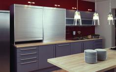 Standard Tambour Door/Garage Appliance