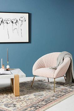 16 best pink accent chair images living room painted furniture rh pinterest com