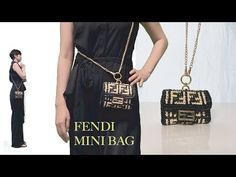 Crochet Bag Tutorials, Crochet Videos, Crochet Patterns, Fendi Mini Bag, Fendi Bags, Crochet Purses, Branded Bags, Crochet Accessories, Knit Crochet