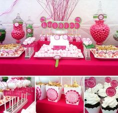 Looking for hello kitty baby shower ideas? take a look at our collection videos and picture of hello kitty baby shower ideas and get inspired Kitty Party, Decoracion Hello Kitty, Anniversaire Hello Kitty, Hello Kitty Themes, Hello Kitty Birthday, Pink Birthday, 4th Birthday, Holidays And Events, Party Printables