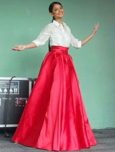 Pin by Eileen Daniel-Sarmago on Mob Dresses, Grad Dresses, Cute Dresses, Fashion Dresses, Bridesmaid Dresses, Modern Filipiniana Gown, Filipiniana Wedding, Barong Tagalog For Women, Choir Uniforms