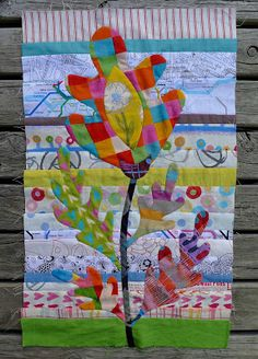 everytime I see a block fr Cabbage Quilts, reminded I need to get this Kim McLean Flower Garden pattern!