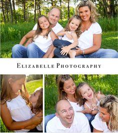 Gotta love all natural fun family photos!