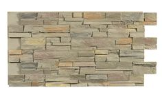Texture Plus Panels - Stacked Stone Dry Stack Select - Natural Gray - Interlock