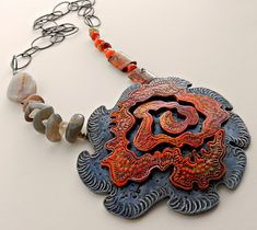 """Vortex"" - Polymer clay by Stories They Tell, via Flickr"