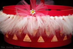 {Tutu Easter Basket Tutorial} Build A Basket On A Budget Craft Stick Crafts, Fun Crafts, Craft Ideas, Diy Gifts For Mothers, Easter Crafts For Kids, Easter Stuff, Diy Tutu, Boyfriend Crafts, Easter Bunny Decorations