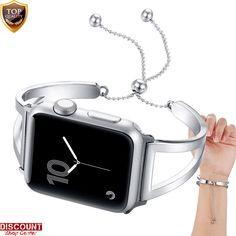 For Apple Watch Bracelet Band 42mm Pendant Tassel Metal Bangle Strap Jewelry New #ForAppleWatchBracelet #DressFormal
