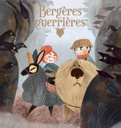 "It's  now official, my new comic book project with Jonathan Garnier ""Bergère  Guerrière"" (shepherdess warrior) will be published by Glenat edition !  See you in 2017 ! (ÒvÒ)/"