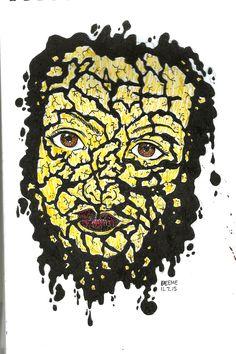 wasak na mukha Mix Media, Paintings, Drawings, Art, Art Background, Paint, Painting Art, Kunst, Sketches