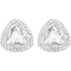99d6afa94 SWAROVSKI BEGIN STUD PIERCED EARRINGS 5098511 | Duty Free Crystal Women's  Earrings, Pierced Earrings,