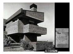 Homenaje al arquitecto Javier Carvajal en la Escuela de Arquitectura de la Universidad de Navarra.