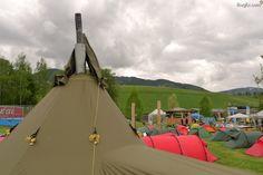 Helsport Varanger Camp 8-10, Außenzelt und Gestänge