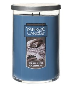 Warm Luxe Cashmere 22-Oz. Two-Wick Classic Candle Jar