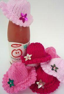 teeny tiny hats for the Innocent Big Knit