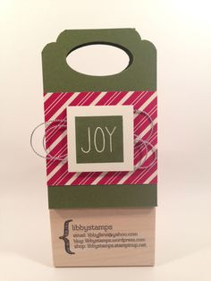 libbystamps, Stampin Up, Mistletoe & Holly Paper Pumpkin Kit, Home for Christmas DSP, Word Window Punch, Curvy Corner Trio Punch, Blogging Friends Blog Hop, gift card holder,
