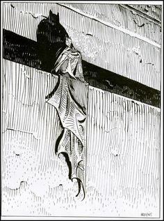 Moebius' Batman
