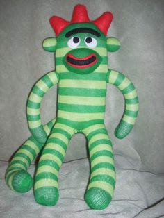 If Brobee were a sock monkey. First Birthday Parties, 2nd Birthday, First Birthdays, Birthday Ideas, Jack B, Crafts For Kids, Arts And Crafts, Best Pictures Ever, Yo Gabba Gabba