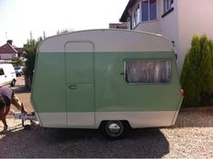 Sprite caravan vintage