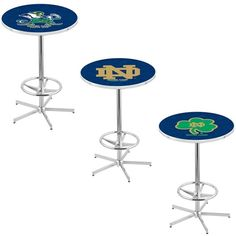 Notre Dame Fighting Irish Retro-Style-Base Pub Table. Visit SportsFansPlus.com for a Discount Coupon.