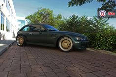 BMW Z3 M Coupe on HRE wheels
