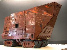 Not a Moc, but a sick addition to LEGOLAND California, Monster Star Wars Sandcrawler LEGO