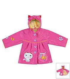 Kidorable™ Girls' 12M-6X Lucky Cat Raincoat