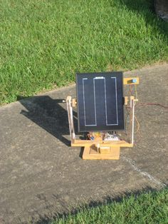 Ever wanted to keep your solar panel in full sun all day long without having to constantly move it? A solar tracker may be the answer. This tracker has...