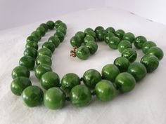 Beaded Bracelets, Necklaces, Plastic, Vintage, Collection, Jewelry, Jewlery, Jewerly, Pearl Bracelets